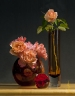 Vase Roses and Red Ball