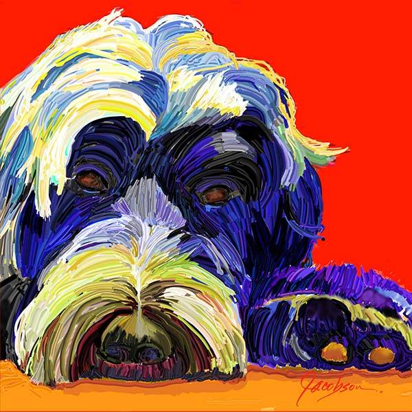 Pet Portraits - Dog Painting