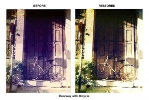 Doorway with Bicycle