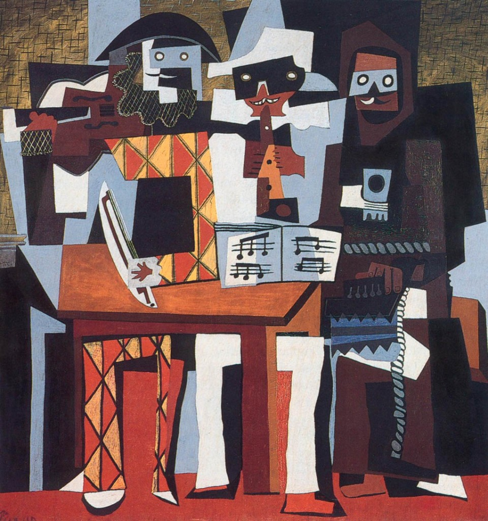 Picasso - the Three Musicians