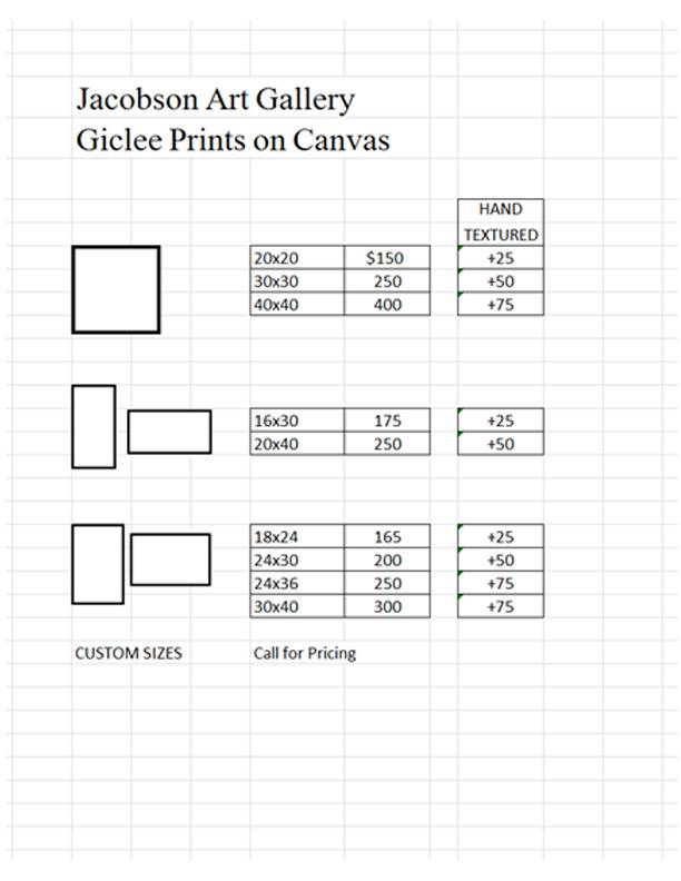 Canvas Pricing 2013