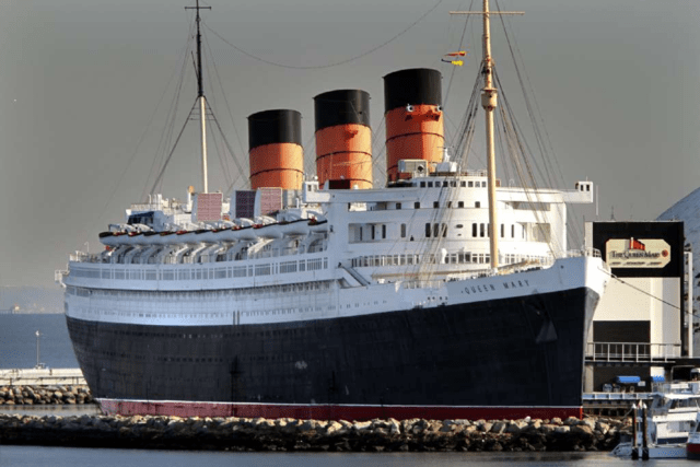 """ The Queen Mary "" Long Beach"