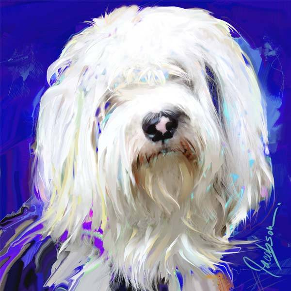 Pet Portrait - Painting