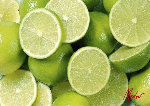 kitchen art with limes