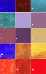 colors for background