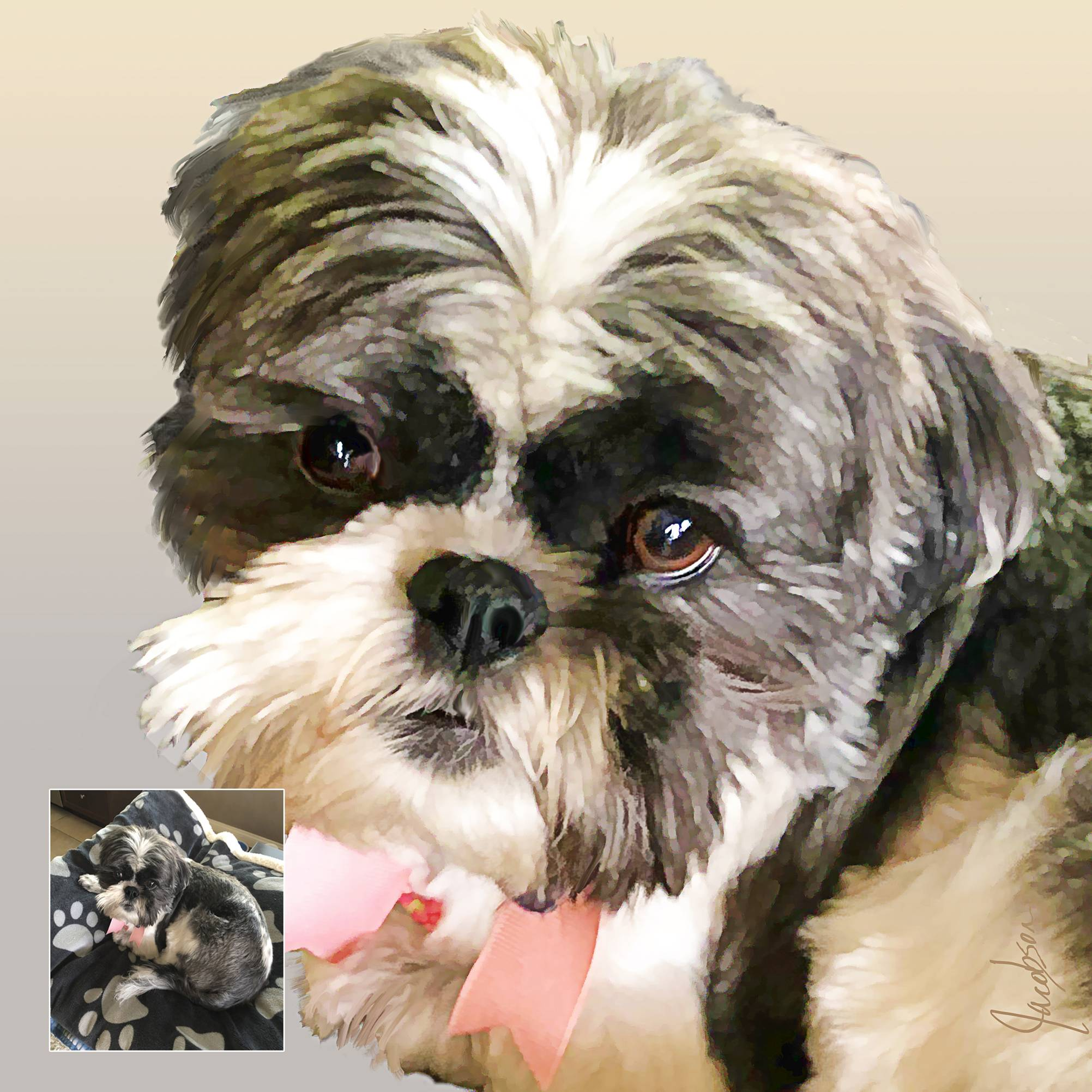 Realistic Pet Portraits from your Photos
